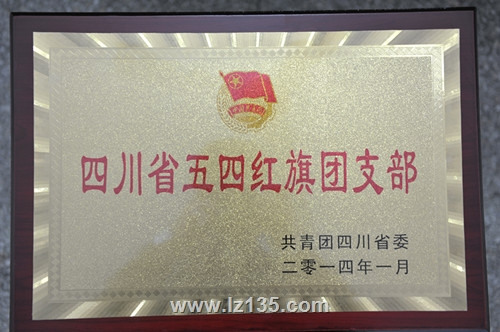 """一三五勘察设计公司荣获团省委2013年度""""五四红旗团支部""""荣誉称号"""