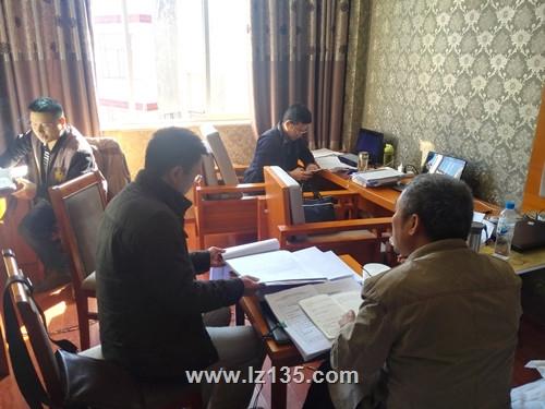 一三五队党委书记戴敬儒一行到云南楚大高速公路项目检查指导工作