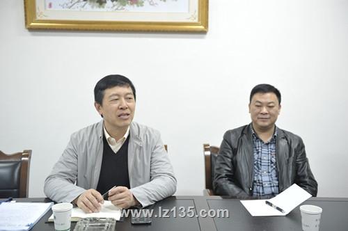 副局长杨明轩一行到一三五队检查指导工作