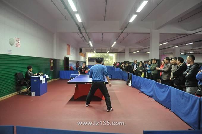 一三五队组织开展庆祝建队65周年职工乒乓球比赛