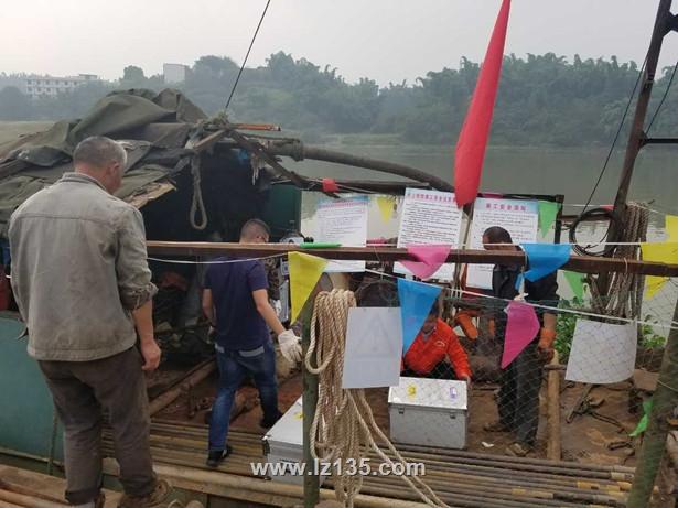 富顺沱江双线特大桥工程孔波速测试