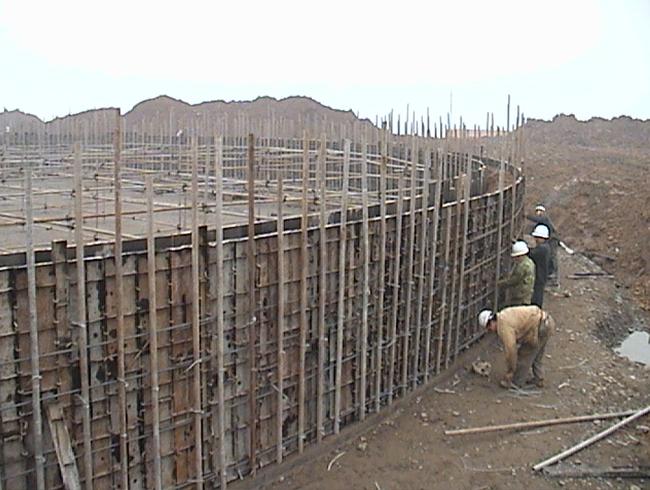 中海沥青(泸州)项目干冲挤密卵石桩地基处理工程项目