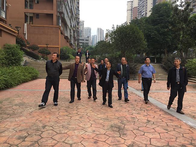 局党委书记、局长刘荣一行到一三五队调研工作