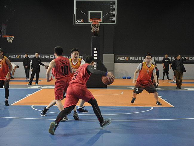 四川省煤田地质局一三五队庆祝建队65周年职工篮球比赛