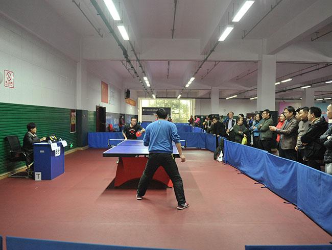 四川省煤田地质局一三五队庆祝建队65周年职工乒乓球赛