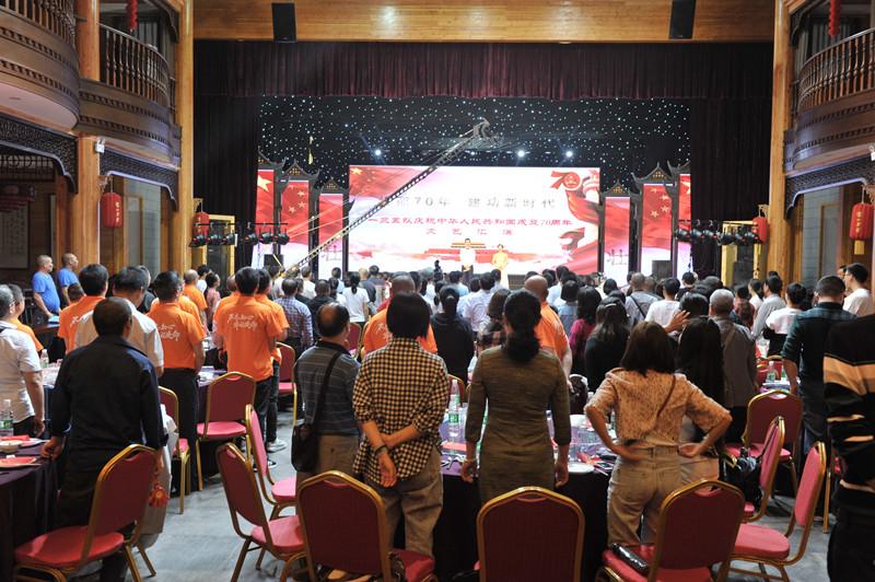 壮丽70年  建功新时代——一三五队成功举办庆祝新中国成立70周年职工文艺汇演