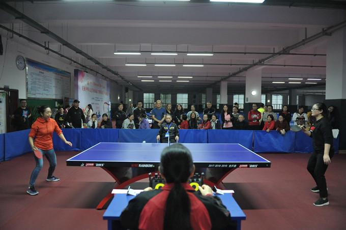 一三五队工会、团委组织开展庆祝新中国成立70周年职工乒乓球比赛