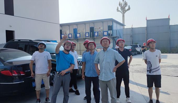 戴敬儒到泸县建设项目开展震后隐患排查工作专项检查